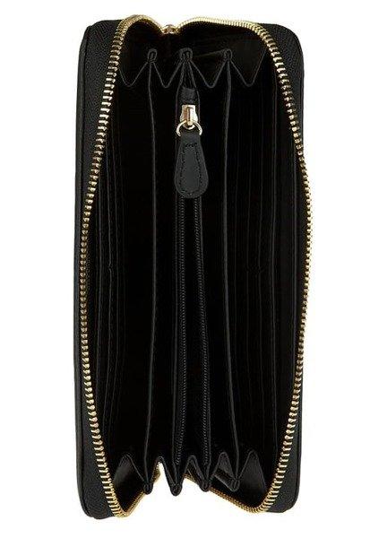 love moschino damen women geldb rse wallet portemonnaie black schwarz logo neu ebay. Black Bedroom Furniture Sets. Home Design Ideas